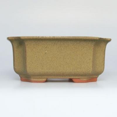 Bonsai ceramic bowl H01, beige - 1