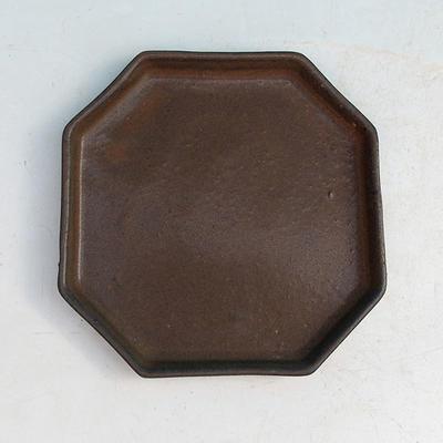 Bonsai tray 13 - 11 x 11 x 1,5 cm, blue - 11 x 11 x 1.5 cm - 1