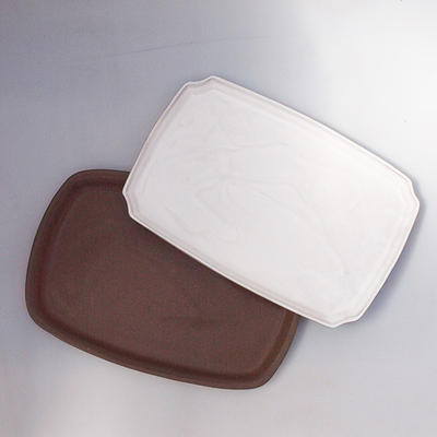 Bonsai tray B-5-paired with bonsai shape, color
