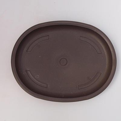 Bonsai plastic tray of water PP-4, brown