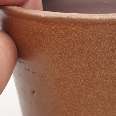 Ceramic bonsai bowl 10 x 10 x 9.5 cm, color brown - 2