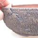 Ceramic bonsai bowl 15 x 15 x 6 cm, color cracked - 2/3