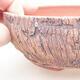 Ceramic bonsai bowl 14.5 x 14.5 x 5 cm, color cracked - 2/3