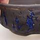 Ceramic bonsai bowl 16 x 16 x 6.5 cm, color cracked - 2/4