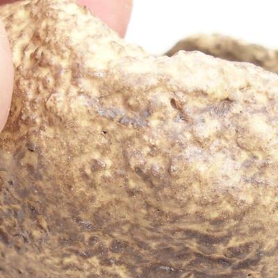 Ceramic shell 5 x 5 x 4.5 cm, color yellow - 2