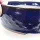 Ceramic bonsai bowl 23 x 23 x 7 cm, metal color - 2/4
