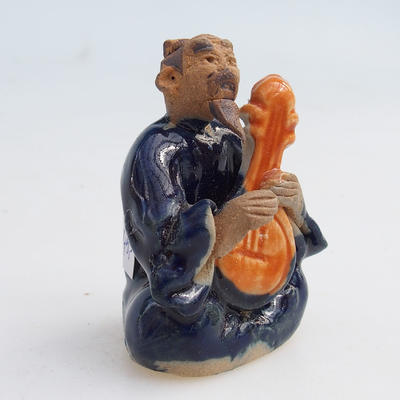 Ceramic figurine - a sage with a guitar - 2