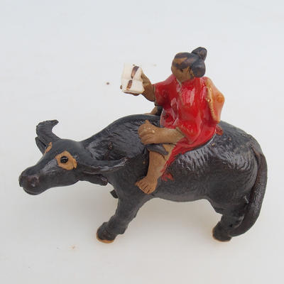 Ceramic figurine - buffalo - 2