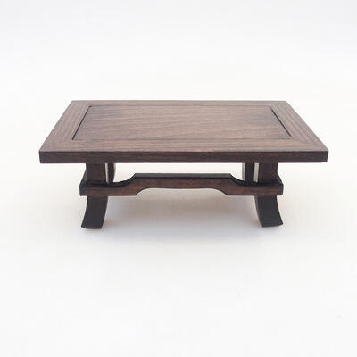 Wooden table under the bonsai brown 13 x 8.5 x, 5 cm - 2