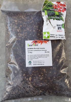 Soil for bonsai Bonsai Master 7 liters - 2