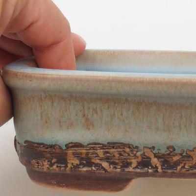 Ceramic bonsai bowl 16 x 10 x 4,5 cm, color blue - 2