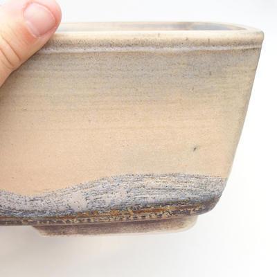 Bonsai bowl 38 x 27 x 11 cm, gray-beige color - 2