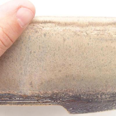 Bonsai bowl 29.5 x 23 x 8 cm, brown-beige color - 2