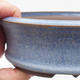 Ceramic bonsai bowl 16 x 16 x 5 cm, color blue - 2/4