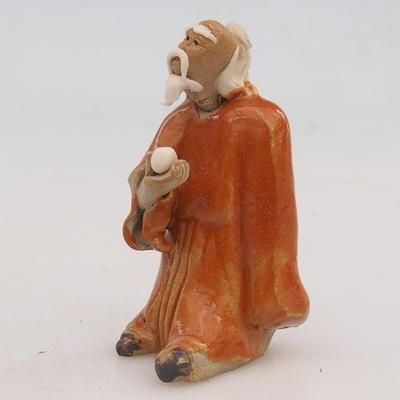 Ceramic figurine - sage - 2
