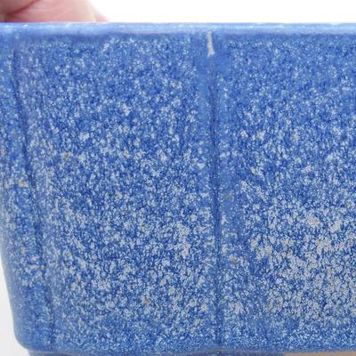 Ceramic bonsai bowl 20 x 17 x 6.5 cm, color blue - 2