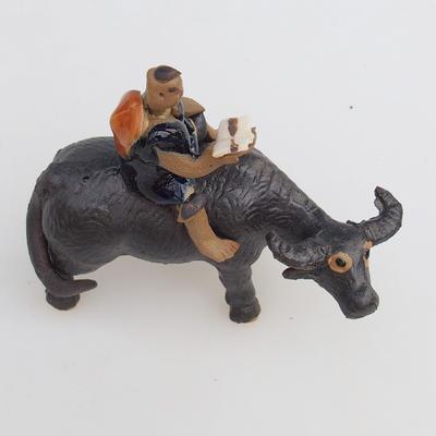 Ceramic figurine - buffalo - 2