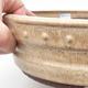 Ceramic bonsai bowl 25 x 25 x 7 cm, color beige - 2/3