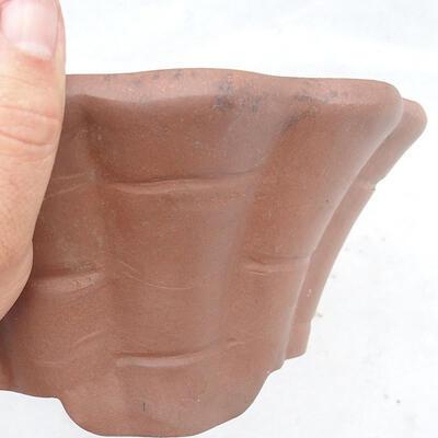 Bonsai bowl 29 x 29 x 13 cm, gray color - 2