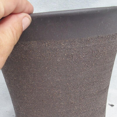 Bonsai bowl 20 x 20 x 20 cm, gray color - 2