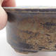 Ceramic bonsai bowl 19 x 15,5 x 6 cm, blue-gray color - 2/3