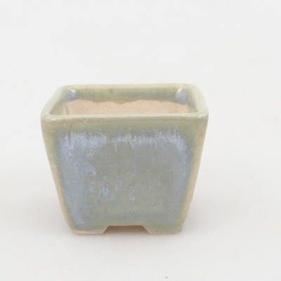 Mini bonsai bowl 3,5 x 3,5 x 2,5 cm, color blue - 2