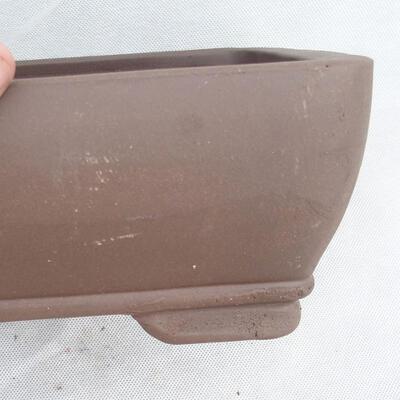 Bonsai bowl 29 x 21 x 9.5 cm, gray color - 2