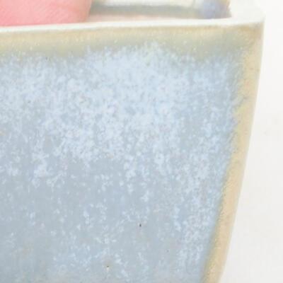 Mini bonsai bowl 3 x 3 x 2.5 cm, color blue - 2
