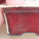 Mini bonsai bowl 4 x 3 x 2.5 cm, color red - 2/3