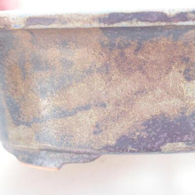 Ceramic bonsai bowl 22 x 17 x 6 cm, color gray - 2