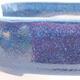 Ceramic bonsai bowl 12.5 x 9 x 3.5 cm, color blue - 2/3
