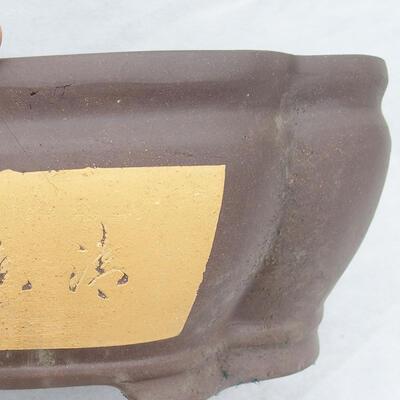 Bonsai bowl 40 x 34 x 15 cm, gray color - 2