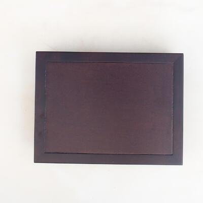 WOODEN TABLE UNDER BONSAI BROWN 25 X 19 X 5.5 CM - 2