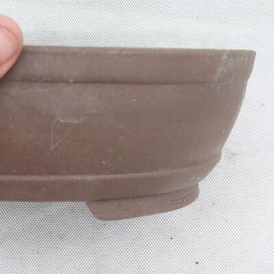 Bonsai bowl 26 x 19 x 7.5 cm, gray color - 2