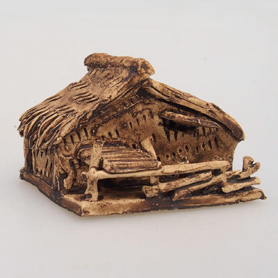 Ceramic figurine - Chatrč - 2