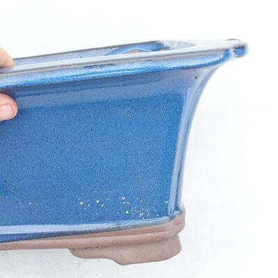 Bonsai bowl 42 x 32 x 17 cm, color blue - 2