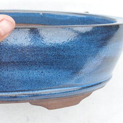 Bonsai bowl 35 x 24 x 9 cm, color blue - 2