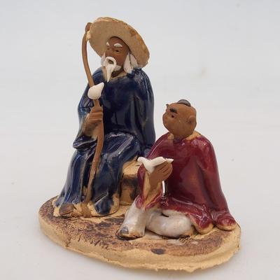 Ceramic figurine - two wise men - 2