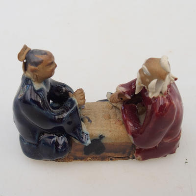Ceramic figurine - two players - 2