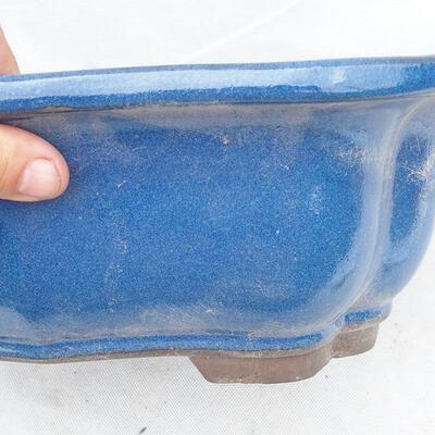 Bonsai bowl 39 x 32 x 12 cm, color blue - 2