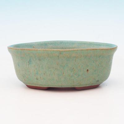 Bonsai ceramic bowl H 05, green - 2