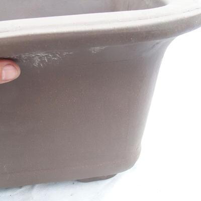 Bonsai bowl 60 x 60 x 33 cm, gray color - 2