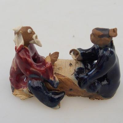 Ceramic figurine - pair of players - 2