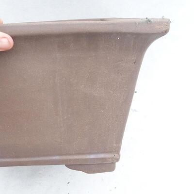 Bonsai bowl 45 x 45 x 26 cm, gray color - 2