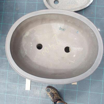 Bonsai bowl 81 x 61 x 24 cm, gray color - 2