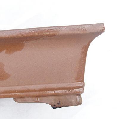 Bonsai bowl 49 x 29 x 13 cm, gray color - 2