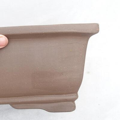 Bonsai bowl 46 x 25 x 15 cm, gray color - 2