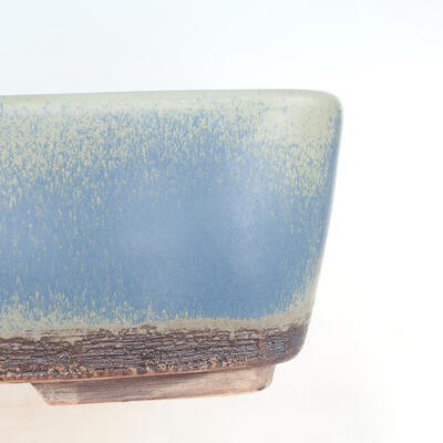 Bonsai bowl 38 x 27 x 12 cm, gray-blue color - 2