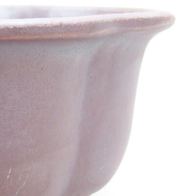 Ceramic bonsai bowl 13 x 11 x 5.5 cm, metal color - 2