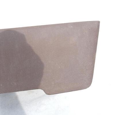 Bonsai bowl 41 x 29 x 12 cm, gray color - 2